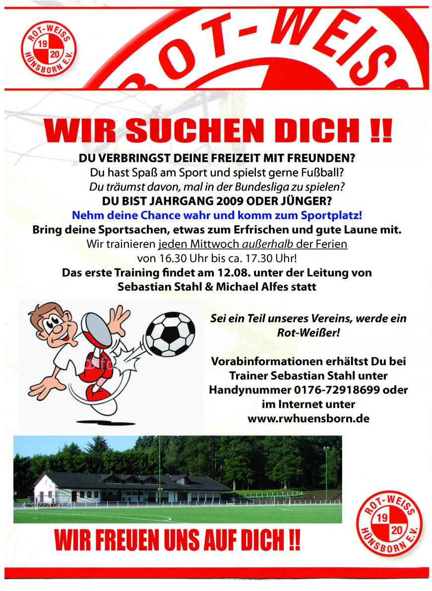 RWH 2015-2016 - Plakat Jugendabteilung_MINIKICKER_web1