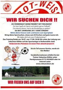 RWH 2017-2018 - Plakat Jugendabteilung_MINIKICKER
